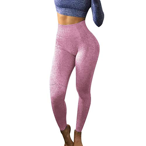 Dorical Damen Hohe Taille Mode Workout Leggings Fitness Sport Gym Jogging Yoga Sporthose