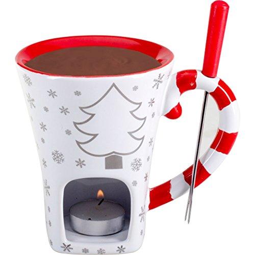 Schokoladenfondue-Set «Christmas»