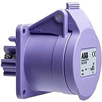 ABB RSLV316 IP44 3P - Casquillo de bajo voltaje para superficies, plástico, color morado