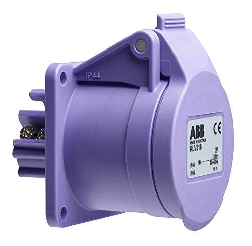 ABB rslv316IP443P geringer Spannung Oberfläche Sockel, Kunststoff, Violett