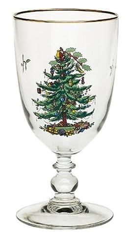 Spode verres à pied Coffret, en verre, multicolore, set de 4