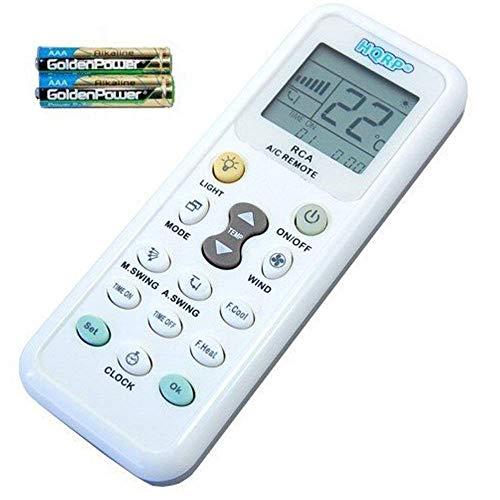 HQRP Klimaanlage fernbedienung Universal für Whirlpool DeLonghi Daikin Samsung Sanyo Haier Hisens Toshiba Amcor Und andere Klimaanlagen mit HQRP Untersetzer