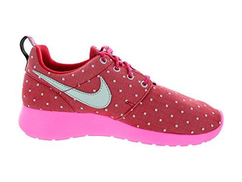 Nike Roshe One Print (Gs), Chaussures Multisport Indoor mixte enfant Rose