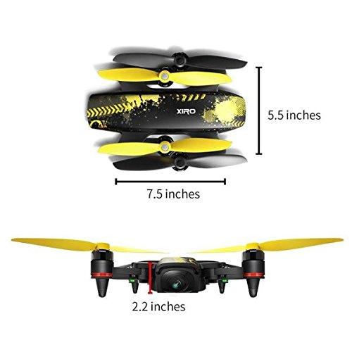 Xiro Xplorer Mini Drohne + Zusatzakku + Transporttasche