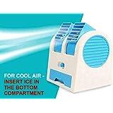 Ozy Air-Cooler-Portable-Desktop-Dual-Bladeless-Fan-Air-Pack