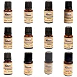 Pure Source India 12 In One aroma oil pack (Lemon Grass, Lavender, Jasmine, Rose, Citronella, Eucalyptus, Peppermint,Sandal W