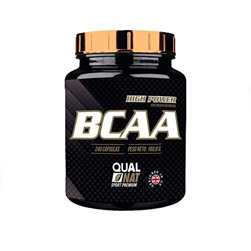 BCAA, suplemento con los mejores aminoácidos ramificados, para mejor ejercicio físico, suplemento recomendable para deportistas, pérdida de peso, entrenamiento y recuperación, 240 Cápsulas.