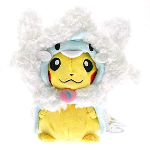 YRBB Plüschtier Pikachu Plüschtiere Puppen Cosplay Charizard Ekans Eevee Schlafsack Weiche Kuscheltier Puppe