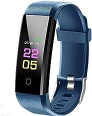 Fitness Tracker con cardiofrequenzimetro, IP67 impermeabile orologio fitness, schermo a colori da 0,96 pollici