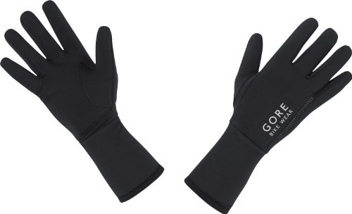 Gore Running Wear Essential - Guantes para mujer, tamaño 4, color negro