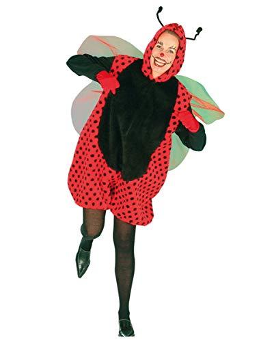 Krabbeltiere Kostüm - Horror-Shop Marienkäfer Kostüm Unisex für Fasching