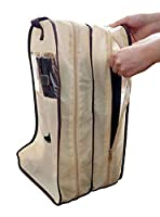 XW COSTUME Poleaster Shoes Cover Shoes Bag Boot Storage Bag (Large, Beige)