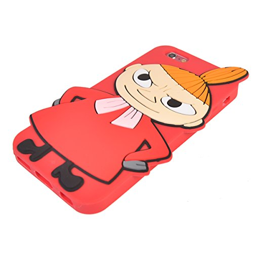 iPhone 7 (4.7 inches) Hülle,COOLKE 3D Fashion Klassische Karikatur weiche Silikon Shell Schutzhülle Hülle case cover für Apple iPhone 7 (4.7 inches) - 015 017