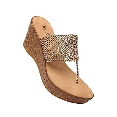 Inc.5 Womens Casual Wear Slip On Wedges (Antique_9)