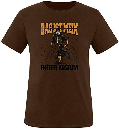 (EZYshirt Das ist miein Ritter Kostüm Herren Rundhals T-Shirt)