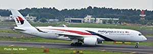 Herpa 532990 Malaysia Airlines Airbus A350-900, Multicolor
