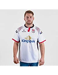 424858ac Kukri Ulster 2017/19 Home S/S Replica Rugby Shirt - White/Black