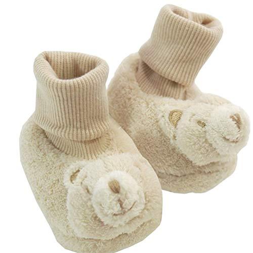 Mayoral Jungen Baby-Rassel-Schuhe Teddy, hellbraun, Gr. 17 (17)