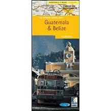 A Rough Guide Map Guatemala & Belize