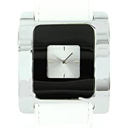 Damen-Armbanduhr Leder Weiß Michael John 1633