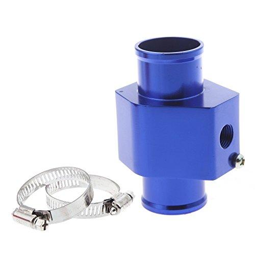 Wassertemperatur Verbindungsrohr - SODIAL(R)Wassertemperatur Verbindungsrohr Sensor Messgeraete Kuehlerschlauch Adapter 36mm Blau
