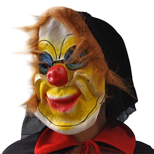 HYSMJ Masken Halloween Horrorgesichter Masken Geister Latexmasken Schrecken und Schrecken