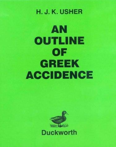 Outline of Greek Accidence (Greek Language)