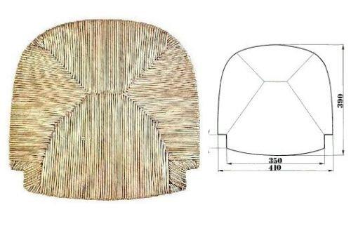 Fondo fondino fondello telaio seduta in paglia per sedia ricambio sedile mod. g2000