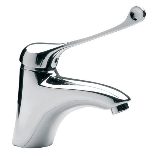 Clinic Arztarmatur-Basin-Sink/Bath-Einlocharmatur-Hochdruckarmatur-Single-Lever Mixer Tap-Specifically for Doctor's Surgeries, Clinics and Other Sensitive Areas Will Put These Medical Wall-Mounted Basin Mixer Produces - Btpm2 - Medico by Ferro -