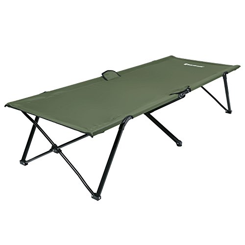 Songmics Brandina Branda Letto da campo campeggio Lettino pieghevole 206 x 75 x 45 cm 250 kg GCB25J
