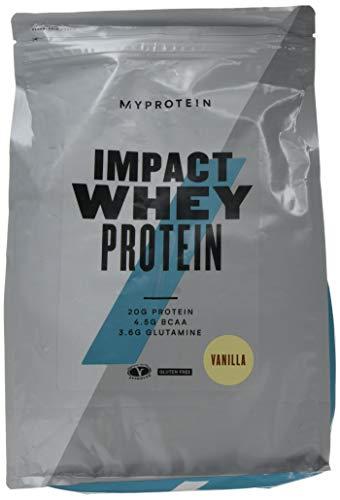 MyProtein Impact Whey Proteína de Suero, Sabor Vainilla - 2500 gr