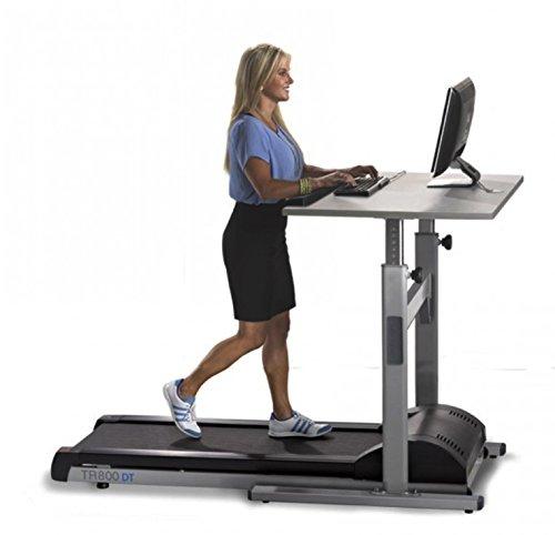 LifeSpan TR800-DT5 Laufbandschreibtisch Laufband mit höhenverstellbaren Schreibtisch für Büro oder Zuhause