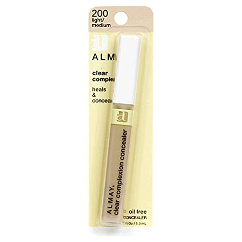 Almay Clear Complexion Oil Free Concealer, Light/Medium 200