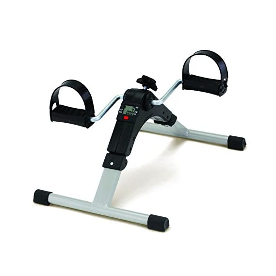 Virtual World Healthcare Digital Pedal Exerciser Bike Care Abdomen Exercise By Fitness Paradise