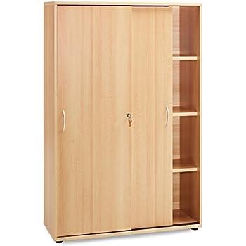 moderner sekret r buche schreibtisch buche dekor 90cm breit 2393 k che. Black Bedroom Furniture Sets. Home Design Ideas