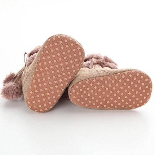 Sohlen Weiche Schneestiefel Baby Stiefel Schuhe Warm Halten Kleinkind Khaki M盲dchen Krippe LongraKleinkind XHq4Yw