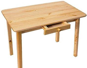 esstisch mit schublade küchentisch tisch kiefer massiv restaurant ... - Küchentisch Mit Schublade