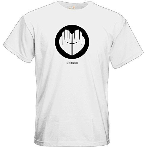 getshirts - Station B3.1 - T-Shirt - Station B3.1 Logo White