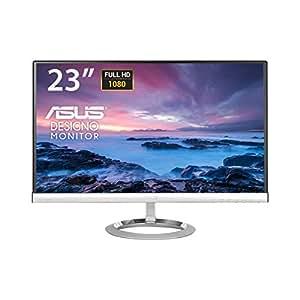 "Asus MX239H Monitor 23"", Full HD 1920x1080, IPS, B&O ICEpower speakers, Flicker Free, 250 cd/m2, Nero/Argento"