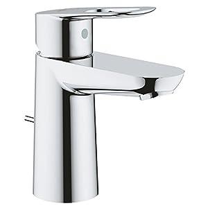 Grohe Loop – Grifo de lavabo monomando con barra de tiro, Tamaño L, 23763000