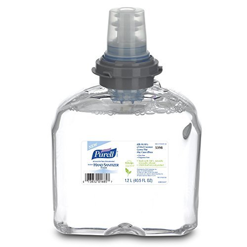 purell-5398-02-advanced-skin-nourishing-instant-hand-sanitizer-foam-1200-ml-tfx-refill-case-of-2-by-