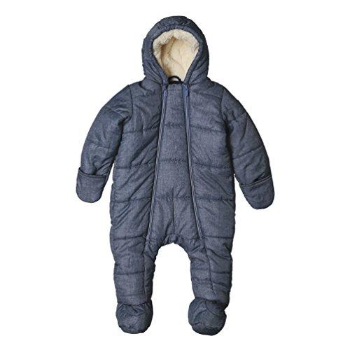 ESPRIT Baby-Jungen Schneeanzug RK46002, Blau (Deep Indigo 491), 68