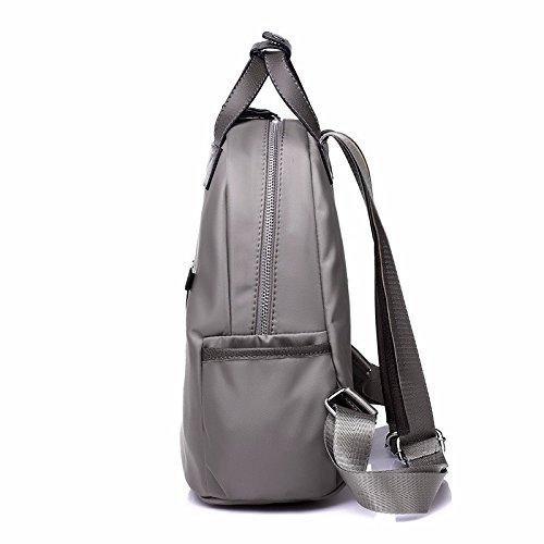 nylon oxford panno zaino, l'europa e l'america semplice zaino, gran bretagna,elegante grey classico nero
