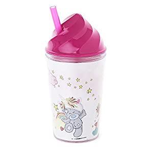 Me To You AGMF7003 My Dinky Bear - Taza de Unicornio con Pajita