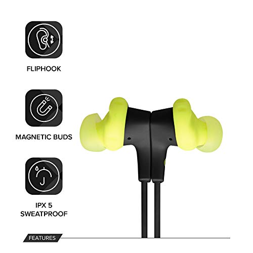 JBL Endurance Run BT Sweat Proof Wireless in-Ear Sport Headphones (Yellow) Image 3