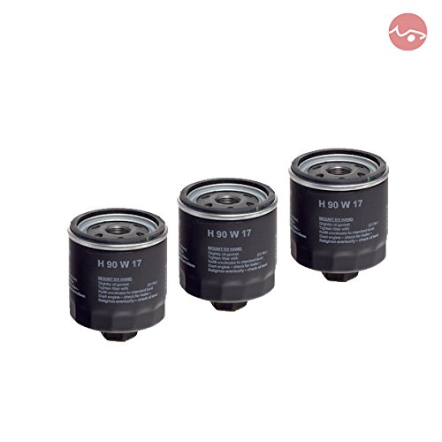 Preisvergleich Produktbild 3x HENGST Ölfilter H90W17