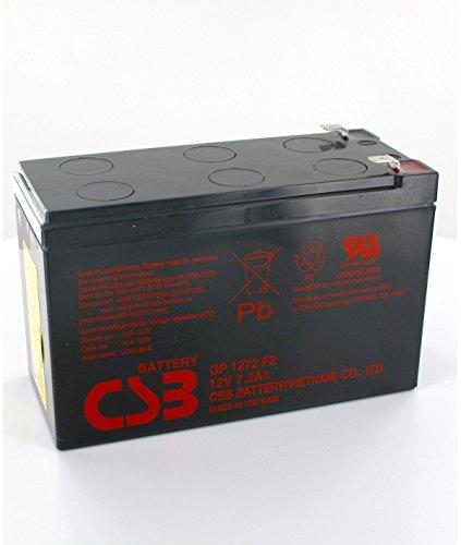 CSB Battery - Batterie plomb CSB 12V 7.2Ah GP1272 F2 - GP1272F2