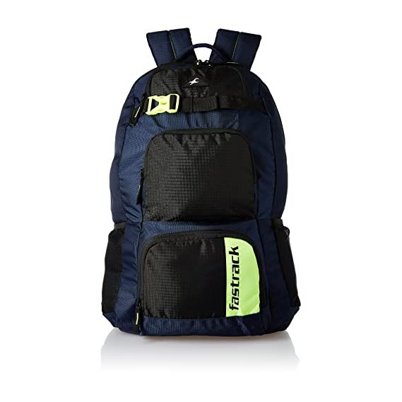 Fastrack 29.56 Ltrs Blue Casual Backpack (A0643NBL01)