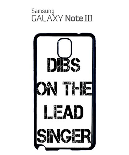 Dibs On The Lead Singer Mobile Cell Phone Case Samsung Galaxy S5 Black Noir