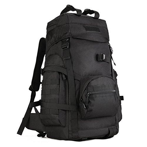 Huntvp zaino sportivo 60l, zaino militare tattico molle borsa per campeggio alpinismo escursionismo ciclismo viaggio trekking sport
